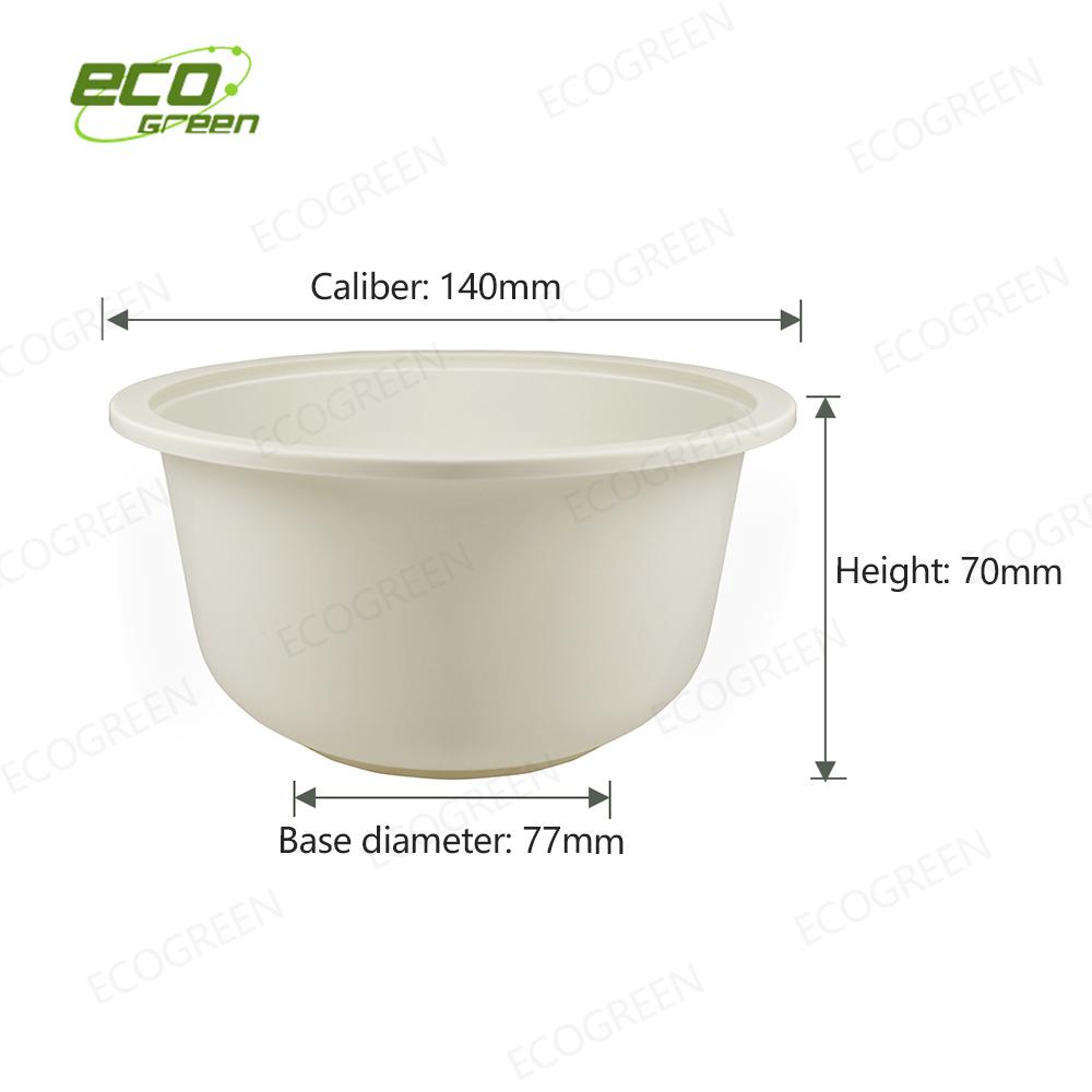 24oz biodegradable bowl