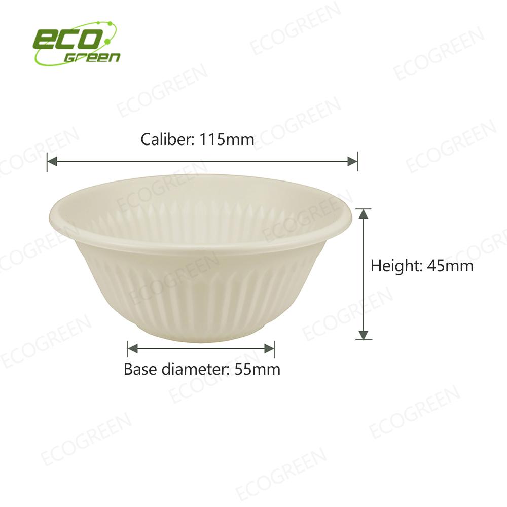 9oz biodegradable bowl