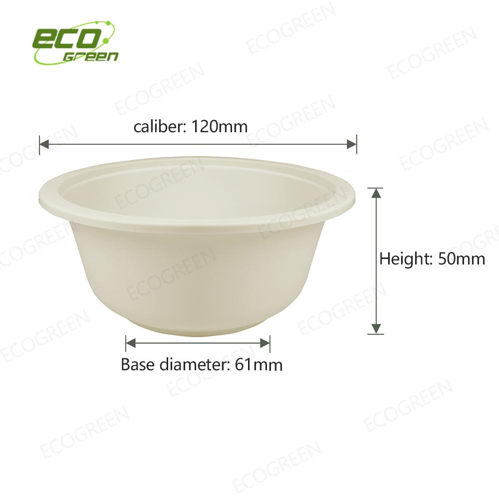 10oz biodegradable bowl